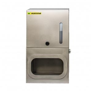 Urządzenie do dezynfekcji rąk  WH236 / Nierdzewny dozownik do płynu dezynfekującego