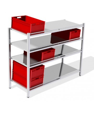 Rack for E2 containers (4...