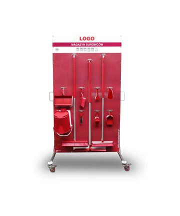 Stainless steel trolley 120