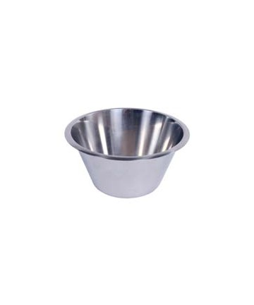 High stainless steel bowl 2 L