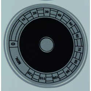 zegar naklejka do sterylizatora UV / OZON