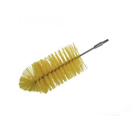 Nasadka szczotki do czyszczenia rur, posiada zakucie męskie ze stali nierdzewnej   T964