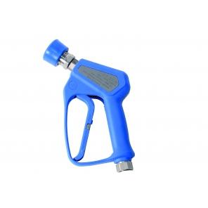 Pistolet do Centralnego Systemu Mycia z szybkozłączem żeńskim ze stali nierdzewnej w osłonie gumowej