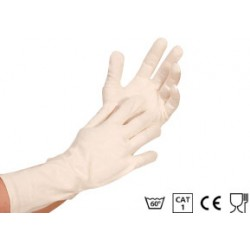 35 cm long cotton gloves, a...