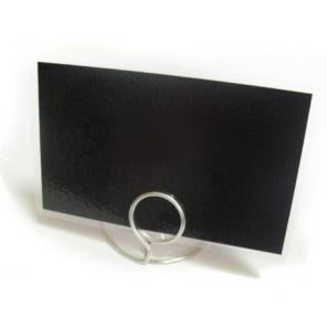 Etykiety cenowe laminowane - cenówki czarne 80x110 mm 50 szt.