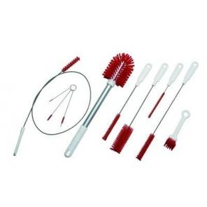 Vikan zestaw szczotek do czyszczenia rur i drobnych dysz np. do lodziarek. 500 mm.