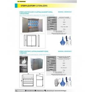 Sterylizator UV / OZON  z listwą magnetyczną i prętami  H0994