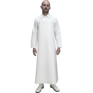 Lekki biały fartuch wodochronny