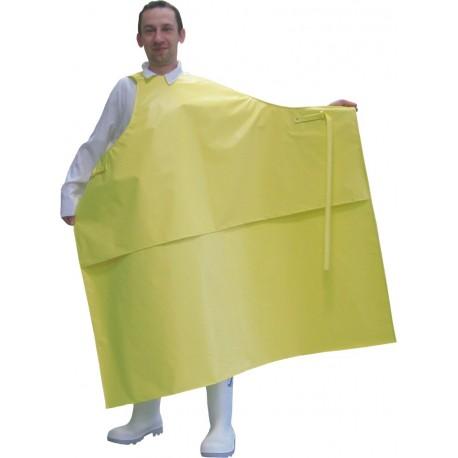 fartuch roboczy woododporny , żółty , biały , niebieski